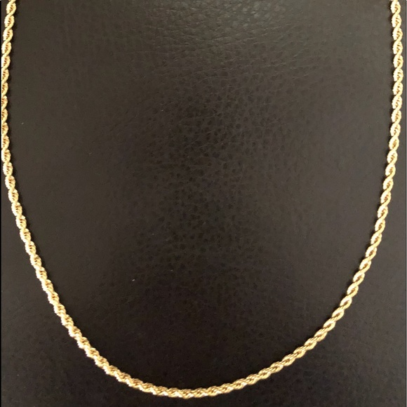 60367b677ea8c Gold rope necklace